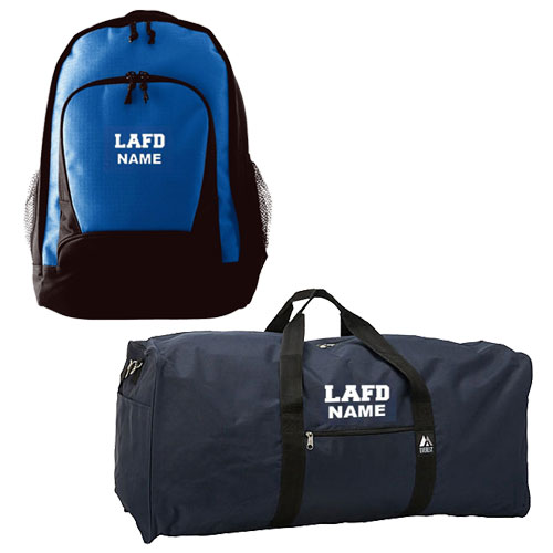 LAFD Duffel Bag & Backpack
